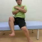 体幹力チェック法(低下)