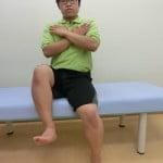 体幹力チェック法(正常)