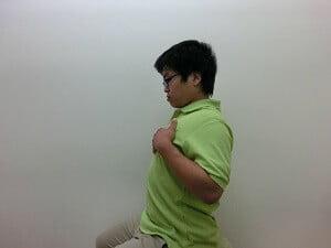 肋骨の動き確認2後屈2