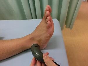足首超音波治療